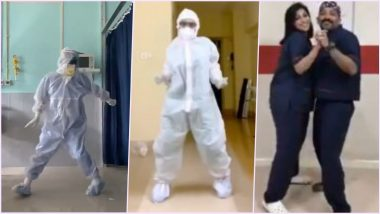 Assam Doctor Dr Arup Senapati Dances to 'Ghungroo' To Cheer Up COVID-19 Patients, Other Times When Doctors Grooved to Beat The Stress and Spread Hope Among Everyone (Watch Viral Videos)