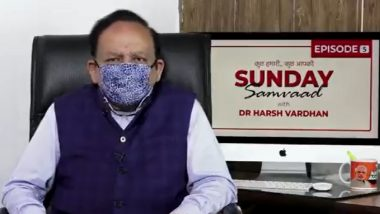 Festivals 2020: Stay Away From Large Congregations Amid COVID-19 Pandemic, Follow Guidelines, Health Minister Dr Harsh Vardhan Advises Citizens