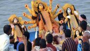 Subho Bijoya Dashami 2020! Durga Visarjan Images and Videos Take over Social Media on Vijayadashmi as Devotees Bid Maa Durga Goodbye