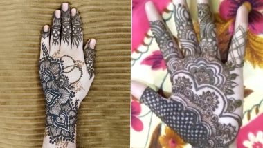 Eid-e-Milad 2020 Latest Mehendi Design: Beautiful Henna Patterns And Mehandi HD Images to Adorn Your Palms This Eid (Watch Videos)