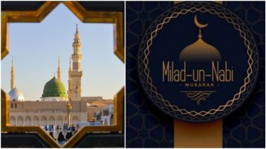 Eid Milad-Un-Nabi Mubarak 2020 Wishes and Mawlid Images Trend on Twitter: Netizens Exchange Eid Messages and Prophet Muhammad Quotes to Send Greetings of Eid Mubarak