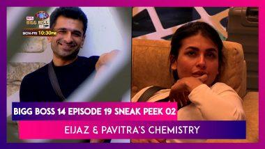 Bigg Boss 14 Episode 19 Sneak Peek 02 | Oct 28 2020: Eijaz & Pavitra Feel For Each other