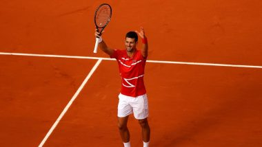 Novak Djokovic Defeats Stefanos Tsitsipas in Finals of French Open 2021, Serbian Ace Clinches 19th Major Title