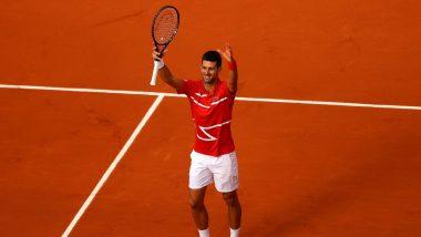 Novak Djokovic vs Richard Berankis, French Open 2021 Live Streaming Online: How to Watch Free Live Telecast of Men's Singles Tennis Match in India?