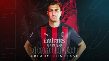 Diogo Dalot Transfer News Latest Update: Manchester United Defender Join AC Milan on Season-Long Loan