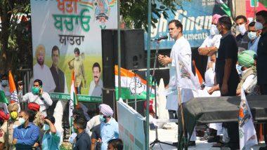 Rahul Gandhi Targets Modi Govt Over Farm Bills, Coronavirus Outbreak (Watch Video)