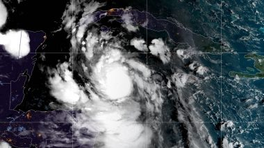 Delta Hurricane Rapidly Intensifies Into Category 4 Storm With 230 Kph Winds, Bears Down on Mexico's Yucatan