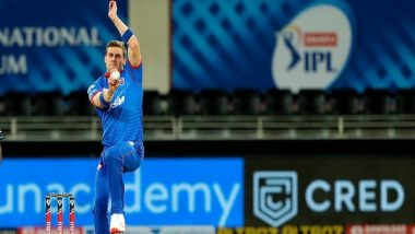 Delhi Capitals Has an Epic Reply to Rajasthan Royals After Anrich Nortje Clocks 156.22 KPH in IPL 2020 (Read Tweet)