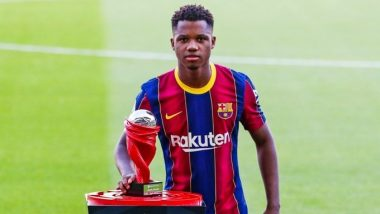 Barcelona's Ansu Fati Becomes Youngest El Clasico Goal-Scorer Against Real Madrid in 21st Century