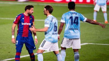 Levante 1-1 Celta Vigo, La Liga 2020-21 Match Result: Controversial VAR Call Denies Levante Injury-Time Win, Keep Them in Relegation Zone