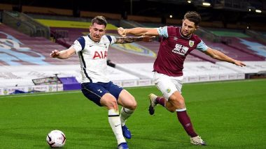 Burnley 0-1 Tottenham Hotspur, Premier League 2020-21 Match Result: Son Heung-Min Late Strike Take Spurs to Victory
