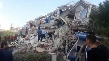Earthquake in Turkey: Strong Quake in Aegean Sea Topples Buildings in Izmir