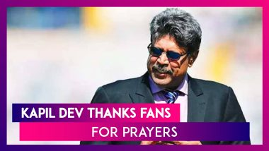 Kapil Dev Thanks Fans & Well-Wishers For Prayers; Suresh Raina Posts Video As The Legendary Cricketer Returns Home After Undergoing Angioplasty