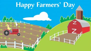 Happy National Farmer's Day 2020 HD Images and Wallpapers For Free Download Online: WhatsApp Messages, GIFs, Facebook Photos and Greetings to Send Wishes of Farmers' Day