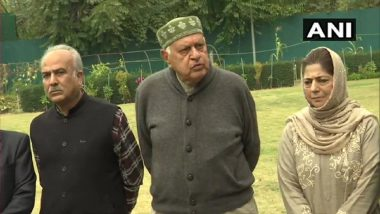 Farooq Abdullah Appointed President of 'People's Alliance', The Coalition of Jammu & Kashmir Parties Seeking Article 370 Restoration