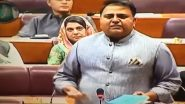Pakistan Minister Fawad Chaudhry Calls Pulwama 'Achievement' of Imran Khan Govt (Watch Video)