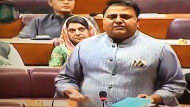 Pakistan Minister Fawad Chaudhry Calls Pulwama 'Achievement' of Imran Khan Govt (Watch Video)