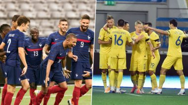 France vs Ukraine Live Streaming Online, International Friendly 2020: Get Match Free Telecast Time in IST and TV Channels to Watch in India