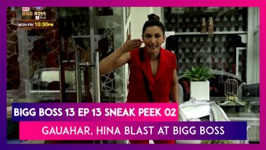 Bigg Boss 14 Episode 13 Sneak Peek 02|Oct 19 2020: Gauahar, Hina Blast At Bigg Boss