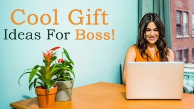 National Boss's Day 2020 Cool Gift Ideas: From Office Desk Plant to Tea Sampler Box, 5 Thoughtful Gift for Bosses
