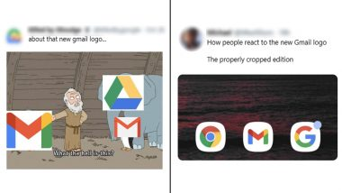 The New Gmail Logo is So Bad, But These Funny Memes on It Are Too Good, Netizens Express Disappointment at Changed GSuite Look With Jokes