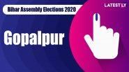 Gopalpur Vidhan Sabha Seat in Bihar Assembly Elections 2020: Candidates, MLA, Schedule And Result Date
