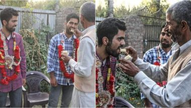 NEET 2020 Cracked by Twin Brothers From Kashmir: Sons of Security Guard from Baramulla Village Bring Laurels (See Pictures & Video)