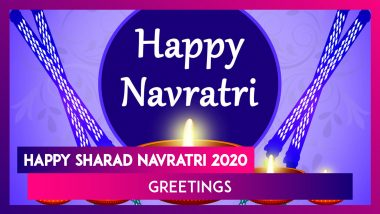 Happy Navratri 2020 Greetings: WhatsApp Messages, Photos & Quotes to Send on First Day of Festival