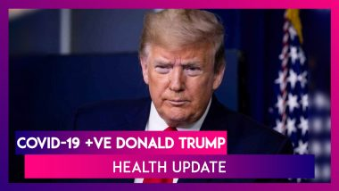 """Donald Trump's Oxygen Levels Dropped, Given Dexamethasone; 'It's Been A Very Interesting Journey & Learned A Lot About COVID,"""" Says The US President"""