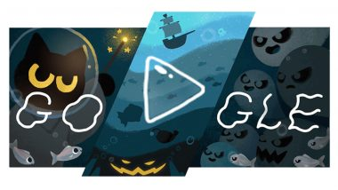 Halloween 2020 Google Doodle: Magic Cat Academy Game is Back With Adorable Momo to Save You From Troublesome Spirits