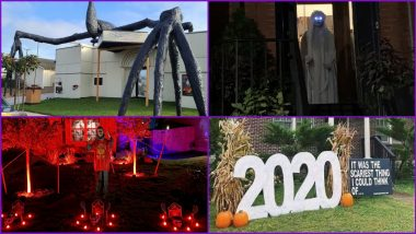 Halloween 2020 Decorations in Pics: From Giant Skeletons, Creepy Ghosts to Just '2020', These Spooky Photos Will Set Your Mood For The Haunted-Themed Night!