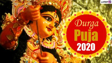 Happy Durga Puja 2020 Wishes in Bengali: WhatsApp Stickers, Maa Durga HD Images, Greetings, Facebook Messages, Instagram Captions and GIFs to Celebrate Pujo