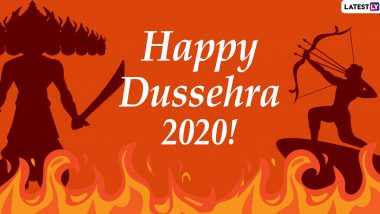 Dussehra 2020 Wishes and HD Images: WhatsApp Stickers, Hike GIFs, Facebook Greetings and Instagram Photos to Send Vijayadashami Messages to Everyone