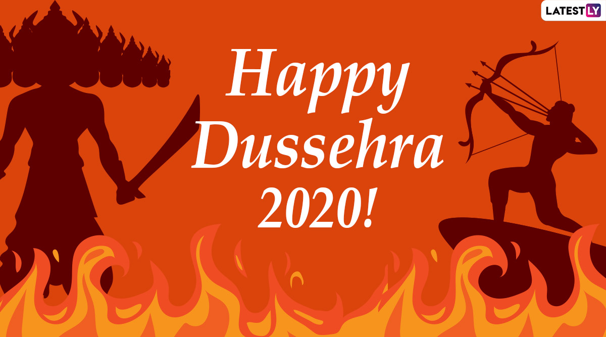 dussehra 2020 wishes and hd images whatsapp stickers hike gifs facebook greetings and instagram photos to send vijayadashami messages to everyone latestly hd images whatsapp stickers hike gifs