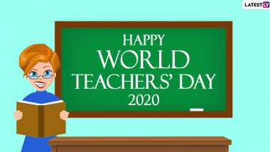 World Teacher's Day 2020 Greetings: WhatsApp Stickers, Facebook Greetings, Instagram Stories, GIF Images, Messages And SMS to Share With Your Most Loved Teacher