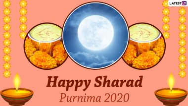 Sharad Purnima Wishes & Kojagiri Purnima HD Images For Free Download Online: WhatsApp Stickers, GIF Greetings, Instagram Stories, Messages and SMS to Wish Family and Friends