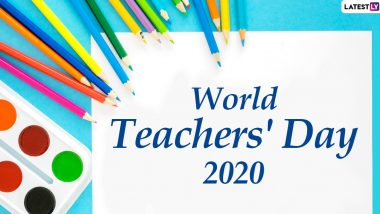 World Teachers' Day 2020 Wishes: WhatsApp Stickers, Facebook Greetings, Instagram Stories, GIF Images, Thoughtful Messages And SMS to Send Your Teacher