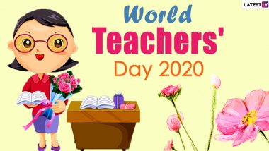 Happy World Teachers' Day 2020 Wishes & HD Images: WhatsApp Stickers, Facebook Status, Photos And Wallpaper to Share Celebrating the Role of Teachers