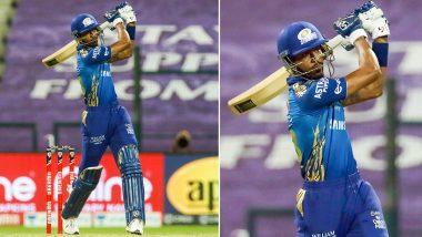 Hardik Pandya Scores Joint-Fastest Half-Century for Mumbai Indians During RR vs MI IPL 2020