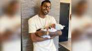 Hardik Pandya Shares Throwback Picture With His Baby Boy Agastya, Calls Him 'Greatest Gift!' (See Post)