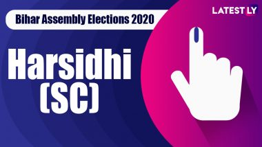 Harsidhi Vidhan Sabha Seat Result in Bihar Assembly Elections 2020: Krishnanandan Paswan of BJP Wins