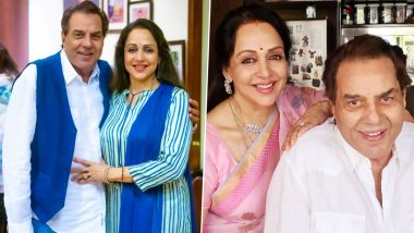Dharmendra, Hema Malini Is All Smile in Actress' Throwback Birthday Photos (See Pics)