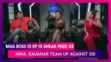 Bigg Boss 14 Episode 13 Sneak Peek 03|Oct 20 2020: Hina, Gauahar Team Up Against Sidharth