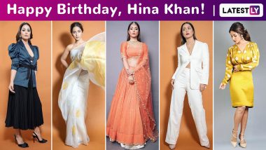 Hina Khan Birthday Special: Glamour Is Her Perpetual State of Mind, As Are Comfort and Sass!