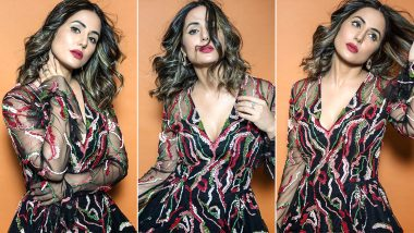 Hina Khan's Couture Chicness in Ohaila Khan Is All Fine but Those Sandals Ruin the Look!