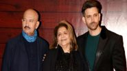Hrithik Roshan's Mother Pinkie Roshan Tests COVID-19 Negative, Rakesh Roshan Confirms the Good News