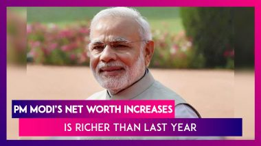 PM Narendra Modi's Net Worth Increases To Rs 2.85 Crore As Of June 2020, Is Richer Than Last Year; Home Minister Amit Shah Is Slightly Poorer This Year
