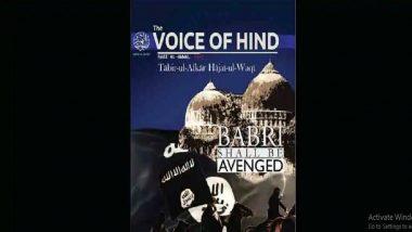 ISIS Magazine Tries to Instigate Indian Muslims, Calls for Jihad to Avenge Babri Masjid Demolition