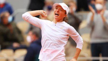 Italian Open 2021: Iga Swiatek Captures Rome Open Title, Beats Karolina Pliskova in Just 46 Minutes