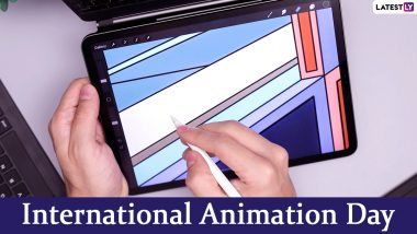 International Animation Day 2020 Date and History: Know Significance of The Day That Celebrates All Forms of Animated Media